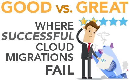 Good vs Great: Where Successful Cloud Migrations Fail