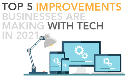 Top 5 IT Improvements Businesses are making in 2021